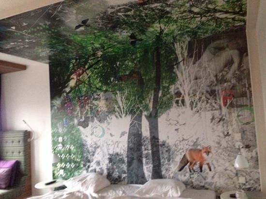 Scandic Copenhagen : artwork in the room