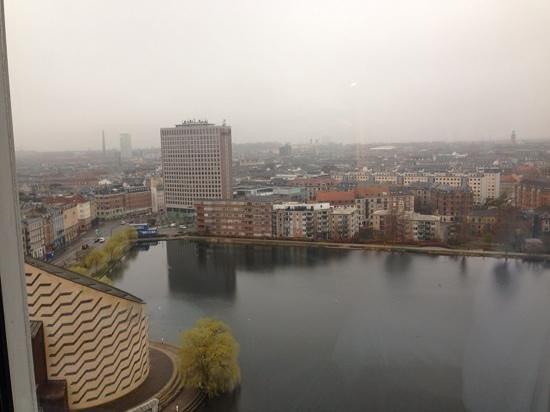 Scandic Copenhagen: view from the 16th floor