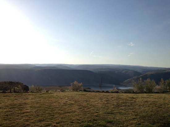 Cave B Estate Winery & Resort: View from the patio