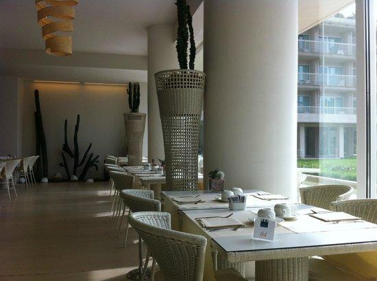 UNA Hotel Versilia : offenes Restaurant