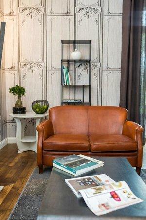 Villa Saint Raphael: Le salon des hôtes