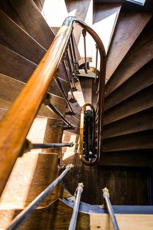 Villa Saint Raphael: Escalier d'entrée