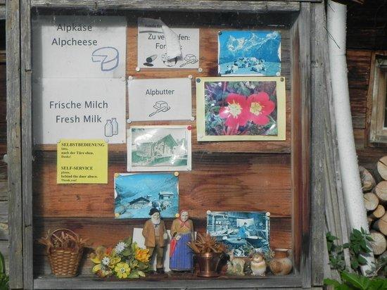 Olle & Maria's Bed and Breakfast: Next door foods for sale