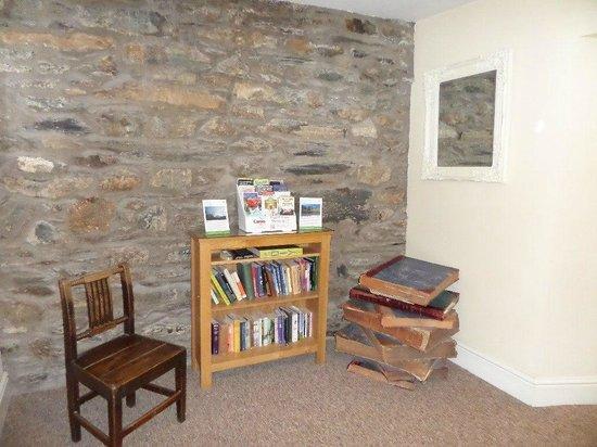 Bryn Tyrch Inn: Books :)