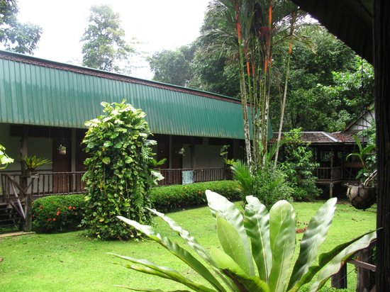 Sukau Rainforest Lodge: Rooms exterior
