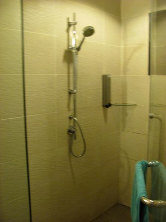 Sukau Rainforest Lodge: nice shower