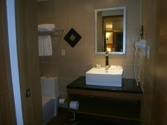 Weston Suites Hotel: Baño