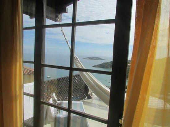 Baía do João Pousada: Vista desde la habitación