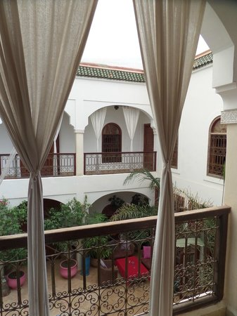 Riad Mandalay : View from first floor