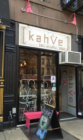 Photo of American Restaurant Kahve new york at 774 9th Ave, New York, NY 10019, United States