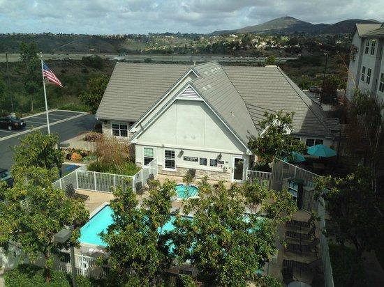 Residence Inn San Diego Rancho Bernardo/Scripps Poway : View from the room