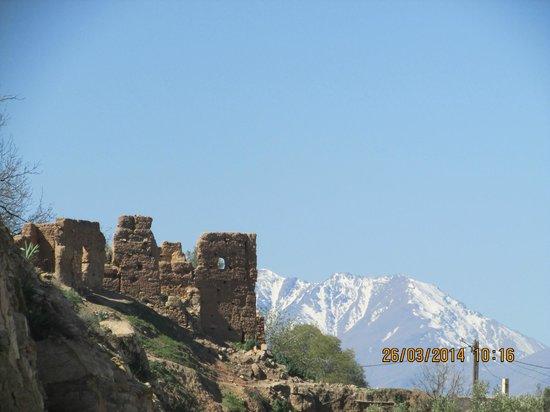 Moroccan House Hotel: Atlas mountains