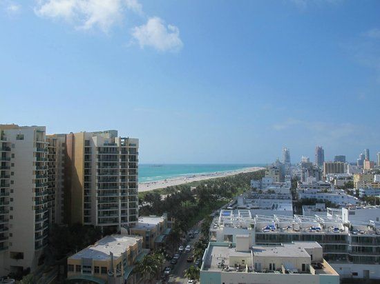 Royal Palm South Beach Miami, A Tribute Portfolio Resort: View from juliet balcony of room 1505, west tower.