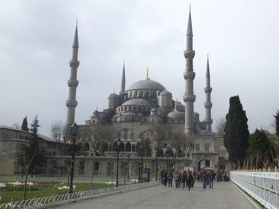 Musée et basilique Sainte-Sophie : mosquée bleue