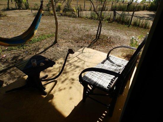 Hotel Hibiscus Garden : Petite terrasse privée