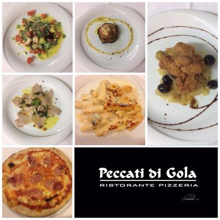 Peccati di Gola: Menú del día