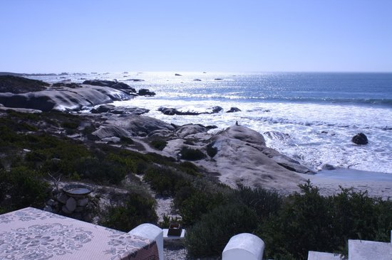 The Oystercatcher's Haven at Paternoster: View from terrace