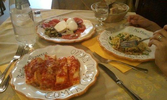 Cumpa' Cosimo : The meal