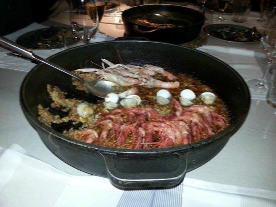 La Mar Salada : Paella..