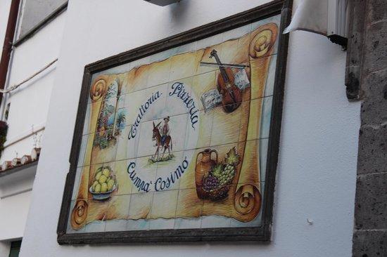 Cumpa' Cosimo : The sign