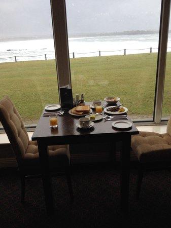 Armada Hotel: Beautiful views for breakfast