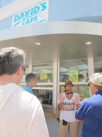 Miami Culinary Tours - Private Tours : Cuban coffee at David's Cafe.