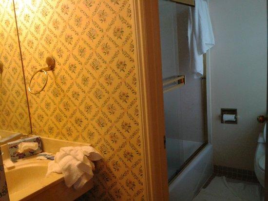 Marina Inn: Coin salle de bain, lavabo