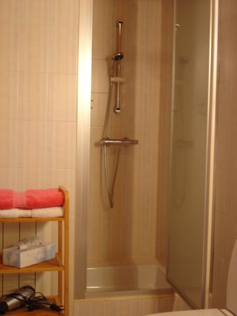 Chambres d'hotes Ladeuix: salle d' eau privée