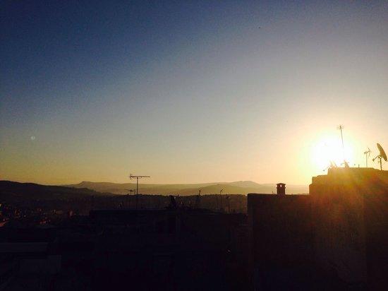 Dar El Menia : Sunrise from the terrace