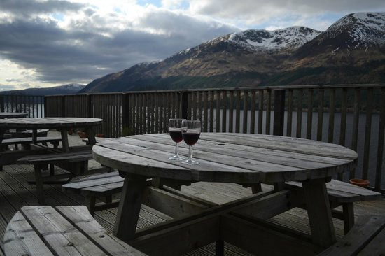 Letterfinlay Lodge Hotel: Cheers!