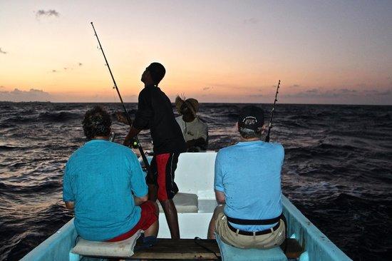 Isla Marisol Resort: Fishing with Ronaldo