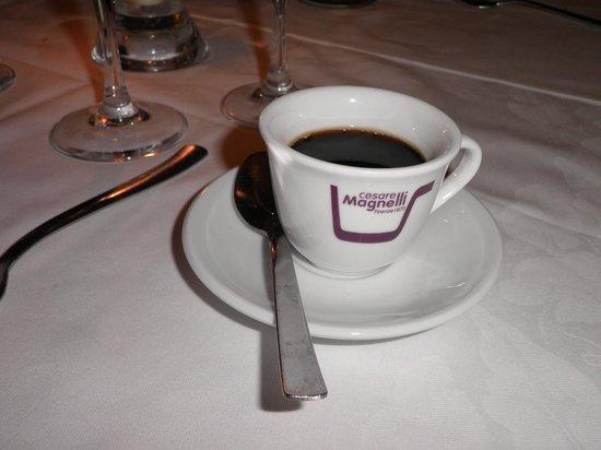 Ristorante I Tre Pini: Coffee...delicious!