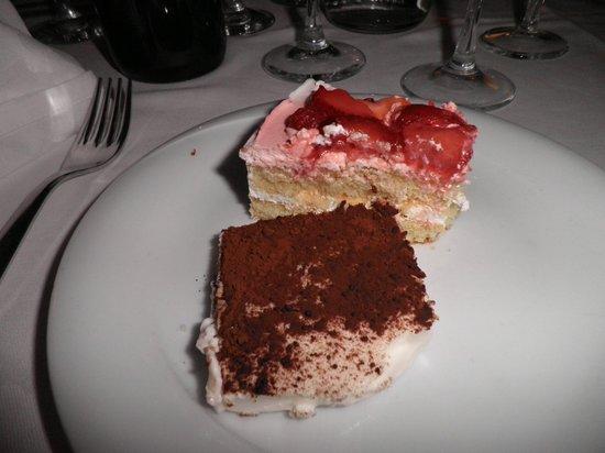 Ristorante I Tre Pini: Desserts...delicious!