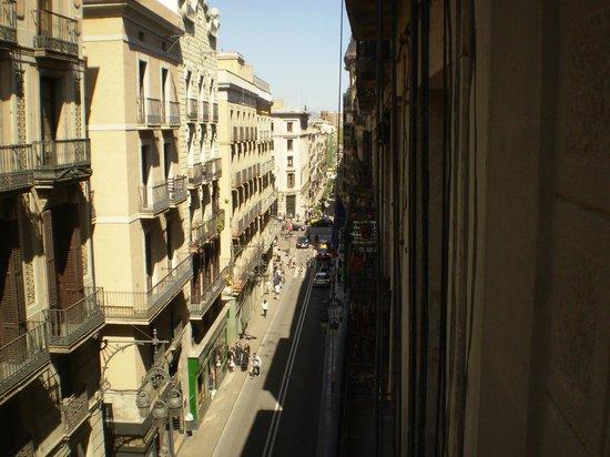 Gran Hotel Barcino: View from Room 308 looking toward Carrer de la Princesa