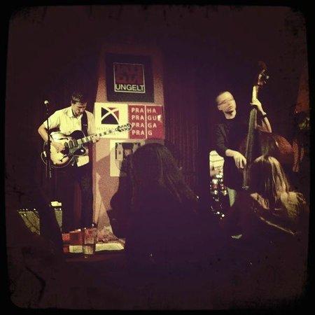 Jazz Club Ungelt: close to stage