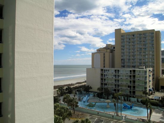 Coral Beach Resort & Suites : View from Room 640