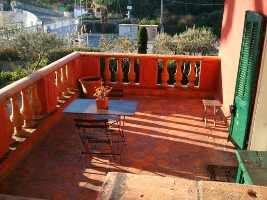 Jardin d'Emile: terrasse