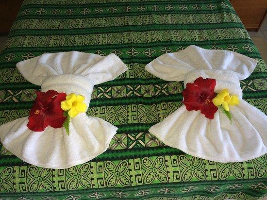 Mana Nui Inn: Towels