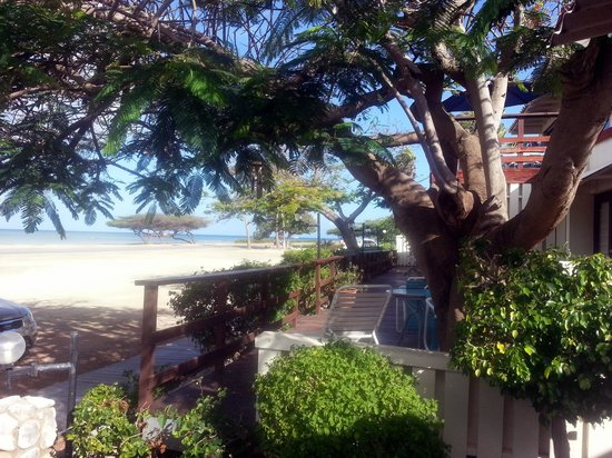 Aruba Beach Villas: varanda do apart