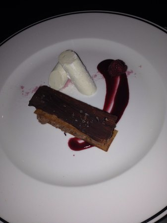 InterContinental Dublin: Divine chocolate mousse dessert!!