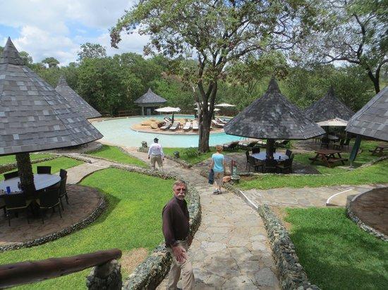 Tarangire Sopa Lodge : Pool area