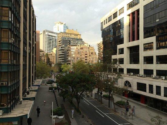 Plaza el Bosque San Sebastian: View from the balcony