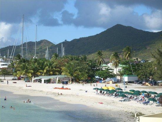 The Villas at Simpson Bay Resort & Marina: View From Balcony