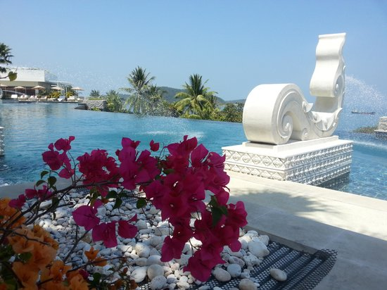 Amatara Wellness Resort: view poolside