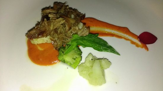 Now Jade Riviera Cancun: Duck Confit at Mercure. Very good.