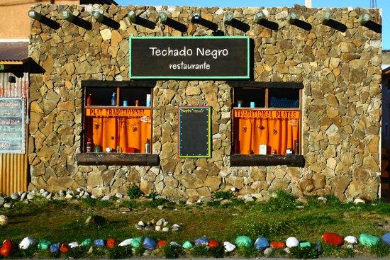 Techado Negro: Lateral
