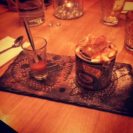 The Scullery: Delicious Sticky Toffee Pudding - you won't get it served like this anywhere else!
