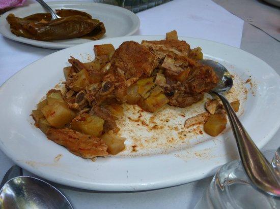 La Teca Restaurant: Este era creo que estofado