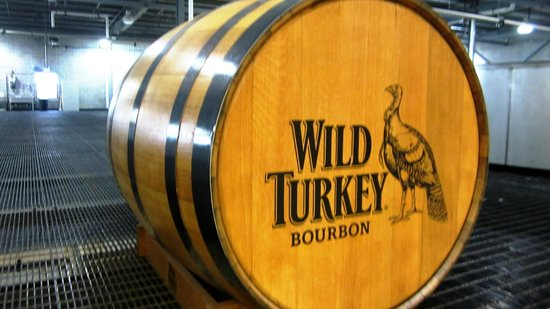 Wild Turkey Distillery : Display barrel