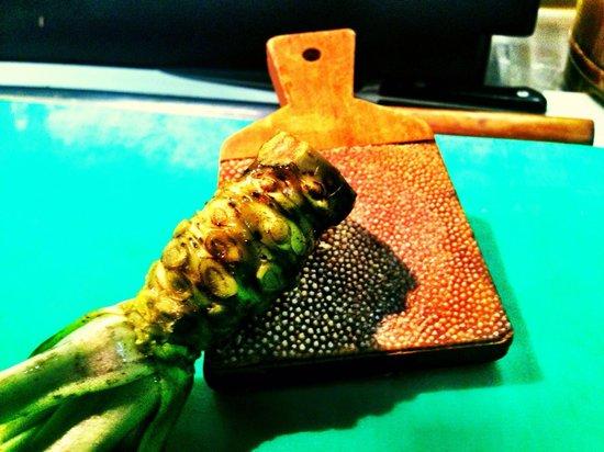 BA: Wasabi fresco!!!!